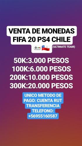 monedas fut fifa 20 ps4 chile +56955160587
