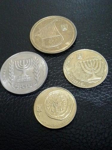 monedas israel shequel y new shequel juego 4 diferentes mbc