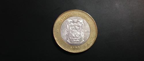monedas mexicanas de $100 pesos