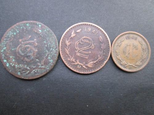 monedas    mexicanas lote 50 piezas remate