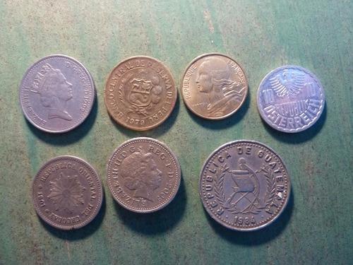 monedas mundiales lote 7 - vp