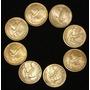 Antiguas Monedas De Chile 10 Cent. - Colección De 8 Años