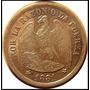 Moneda 1 Peso De Chile 1881 Plata M114001