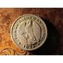 Moneda Plata Chile 20 Centavos Aguila 1879 Muy Emplumado