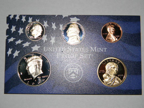monedas oro y plata usa united states  - proof - serie usa