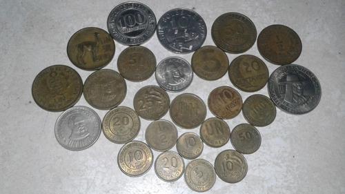 monedas peruanas antiguas de colección