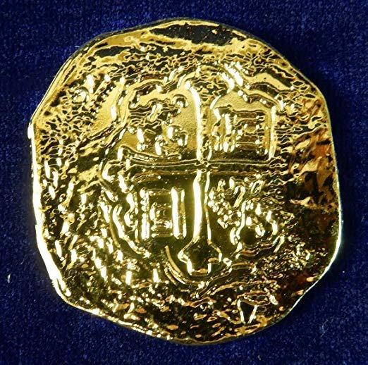 Monedas Piratas Oro Doblones Españoles 1651 Rp -   892 34a7f8e7dd9