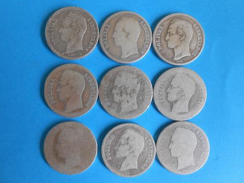 monedas plata años