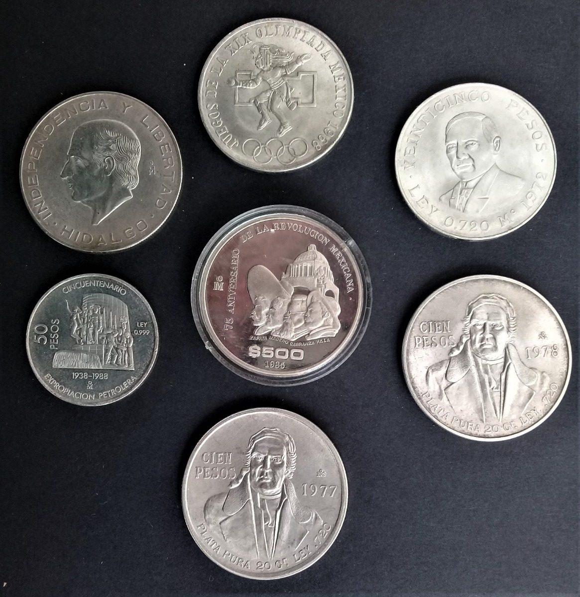 f343dabf83e3 monedas plata antiguas de méxico lote no 2. Cargando zoom.