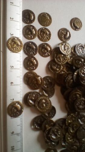 monedas tipo diges para bisuterias; zarcillos, danza 80 unid