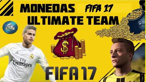 ¡¡monedas!! ultimate team fifa 17 ps4 50k
