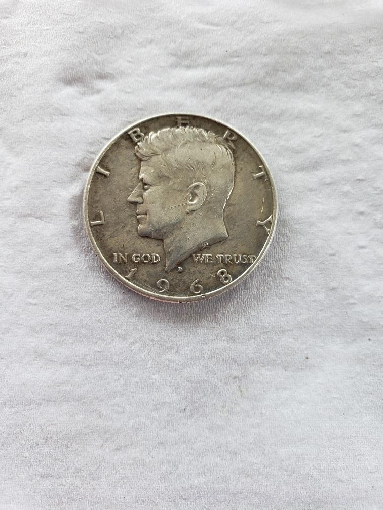 monedas un dollar 1968