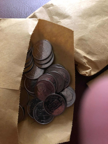 monedas venezolanas de niquel