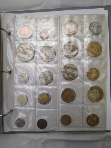 monedas y billetes de  paises