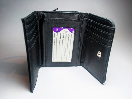 monedero billetera en tela para dama