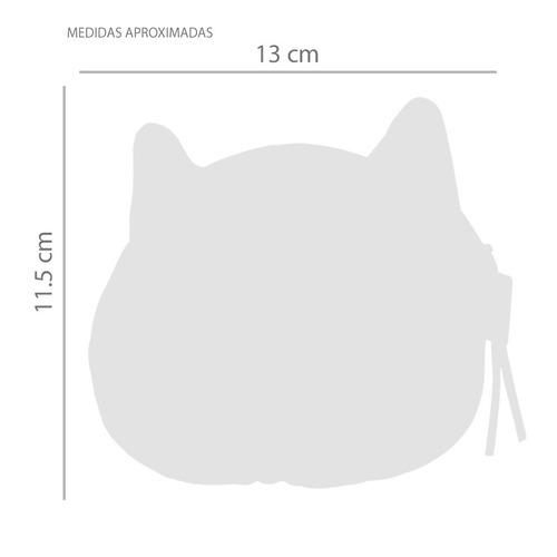 monedero bolsito gato | ojos azules | original importado