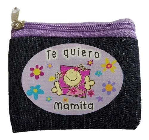 monedero mezclilla mama madre regalo s
