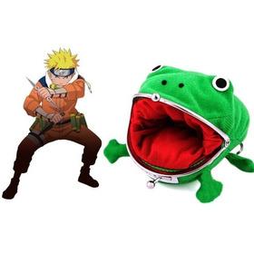 Monedero Naruto Ranita Sapo Rana Gama Chan Shippuden Manga