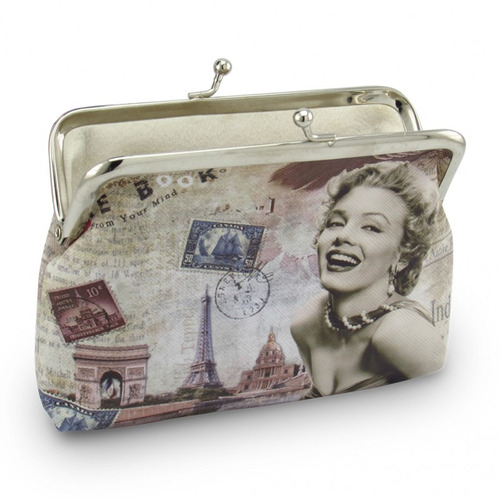 monedero para dama monedas billetes mujer medidas 10,5x14cms
