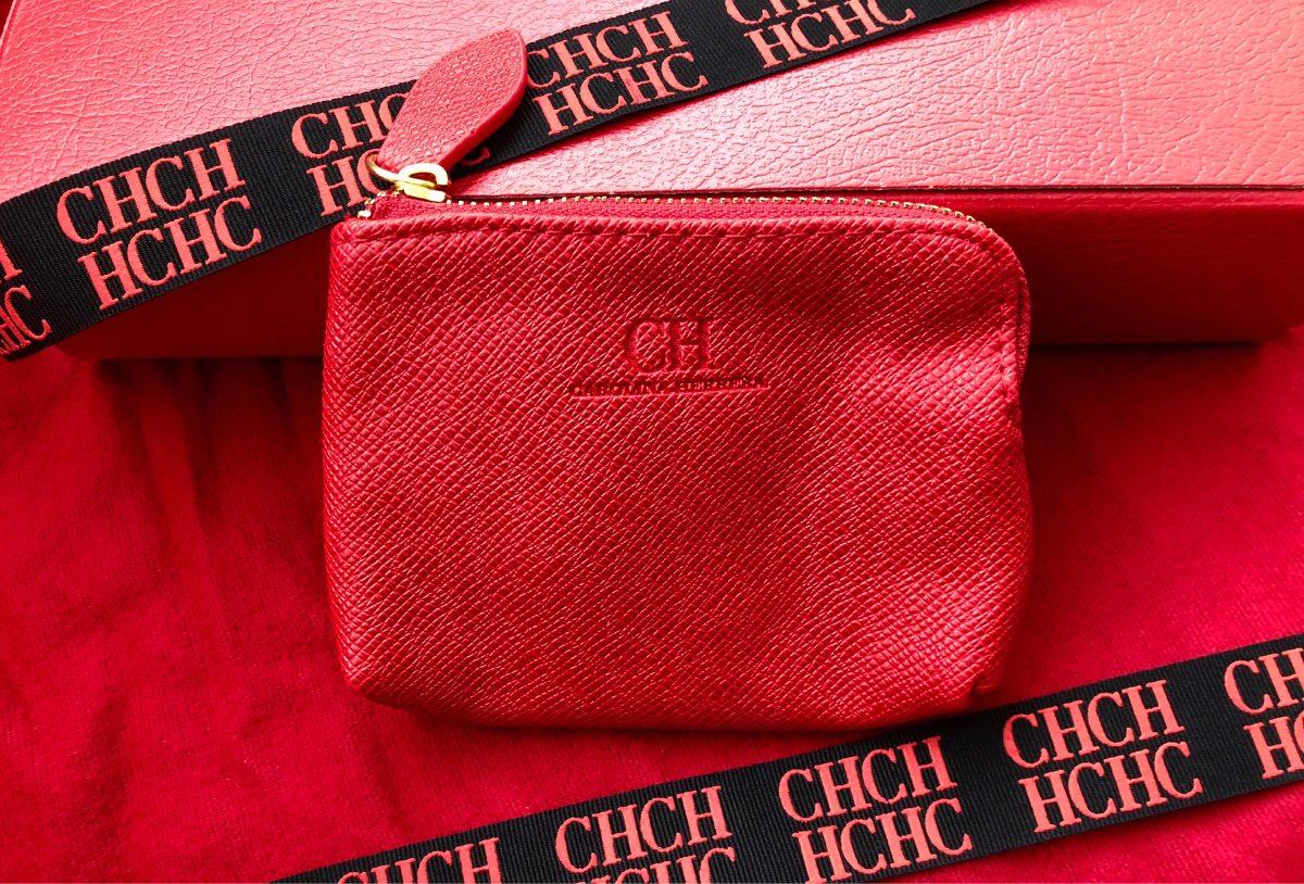 d70ae7f47 Monedero Rojo Carolina Herrera Original - $ 120.00 en Mercado Libre