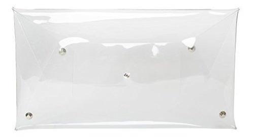 monedero transparente de mujer transparente de pvc de flada