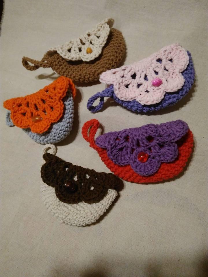 Monederos Amigurumi Tejido Crochet El Cristal Encantado - $ 99,99 en ...