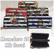 Monederos Doble Cierre Mk Floral Mayor Y Detal Tienda Fisica