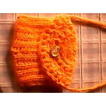 Mini Carteritas A Crochet Niñas De 3 A 5 Años
