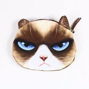 bd9defd28 Bolsa Cartera Para Niñas Cara De Gato Cat Felpa Kawaii Cute. 5 vendidos ·  Monederos Con Cara De Gatos Perros Animales Cartera Bolsa
