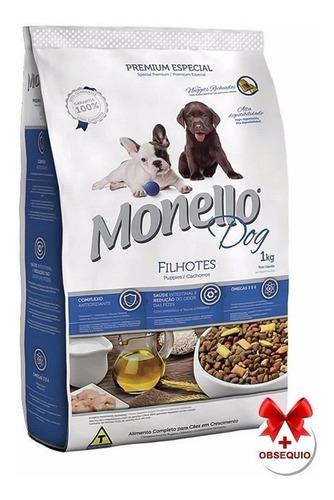 monello cachorro 15 kg con pouch premium 100 grs