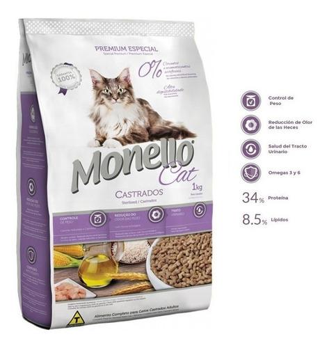 monello cat castrados premium especial x 10 kg envio gratis