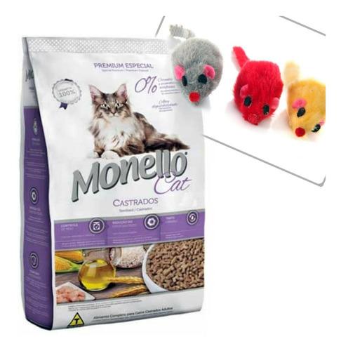 monello gato castrado 10 kg con pelota o ratoncito*