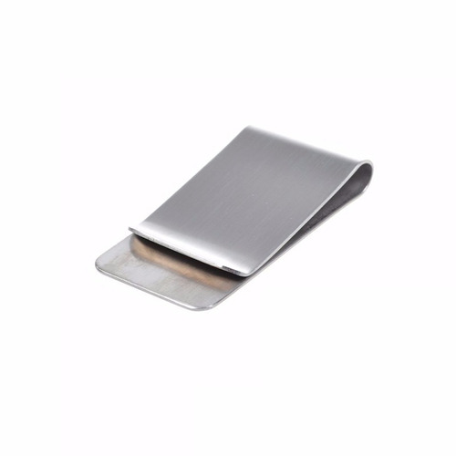 money clip color plata p/tarjetas y billetes personalizado