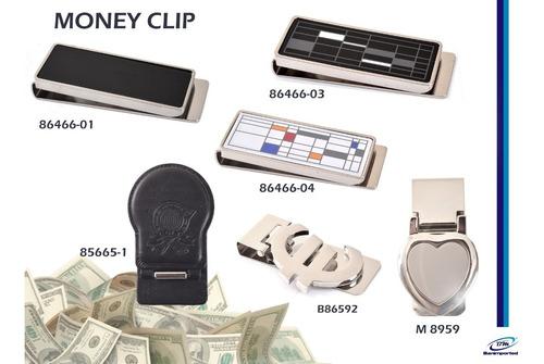 money clip - porta billetes black, disponible banimported