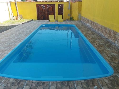 mongaguá casa com piscina para fins de semana .