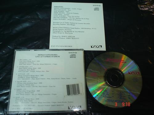 mongo santa maria - cd album - live at yankee stadium bfn