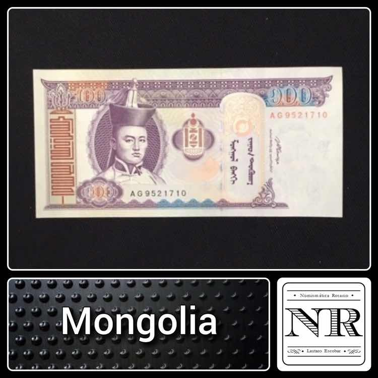 MONGOLIA 100 TUGRIK 2008 UNC  P.65
