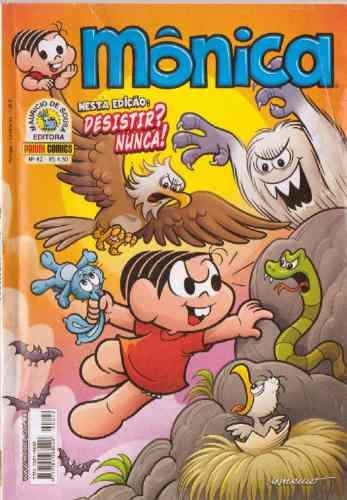 monica revista nº 42   editora panini comics