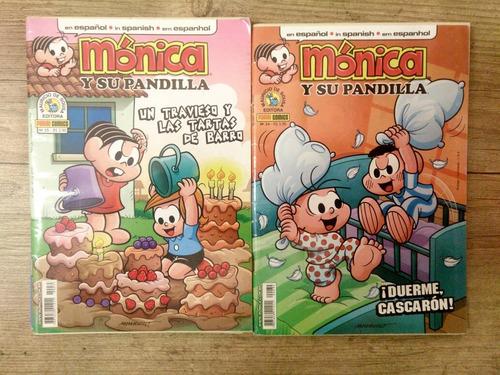 monica y su pandilla  lote com 4 gibis   mysp004