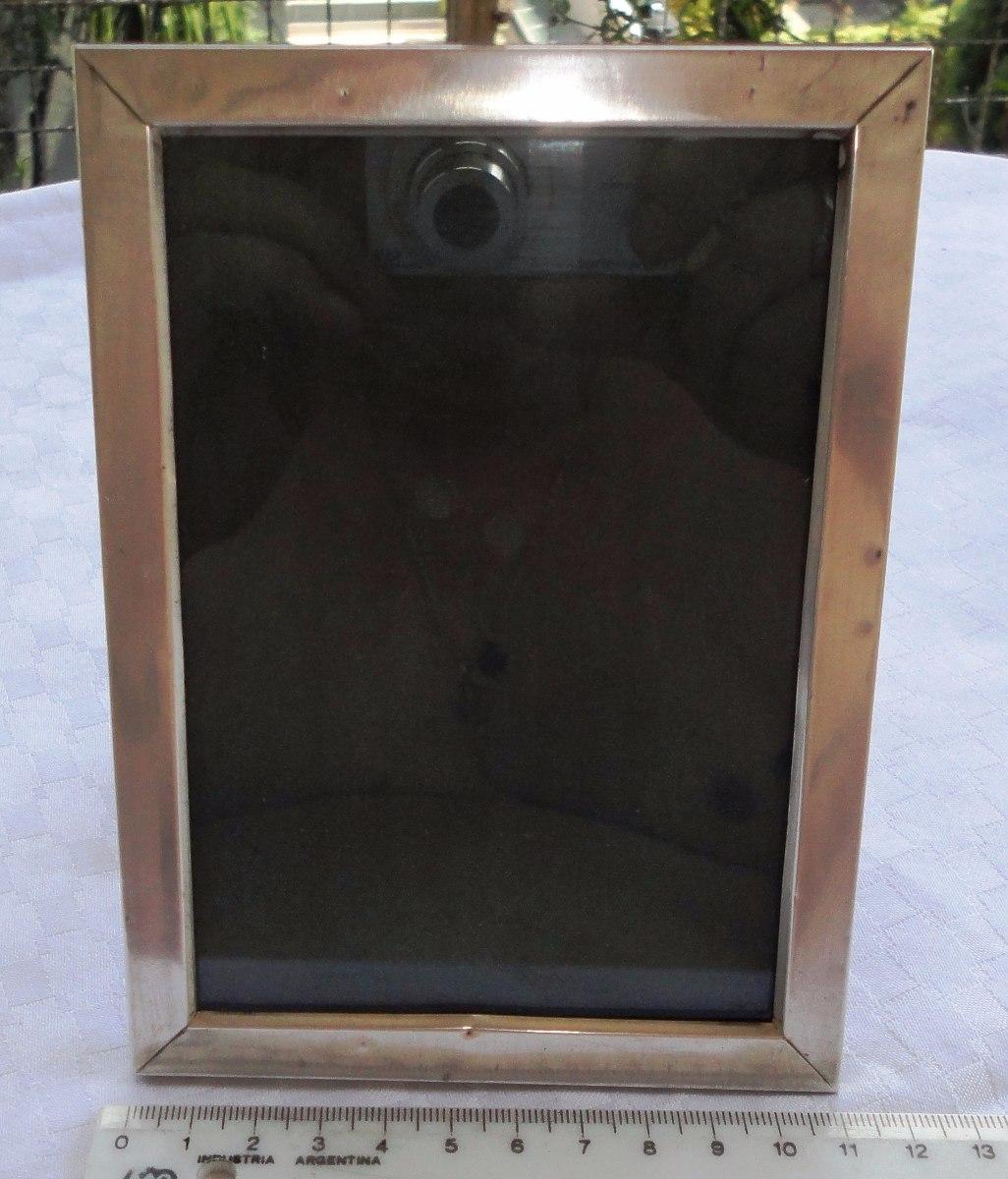 Monijor62-antiguo Marco Porta Retrato En Plata De 11 X 15 Cm - $ 950 ...