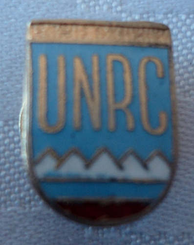 monijor62 antiguo pin esmaltado unrc