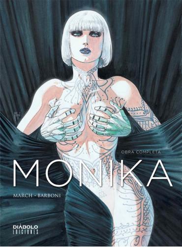 monika obra completa - diábolo comics - robot negro