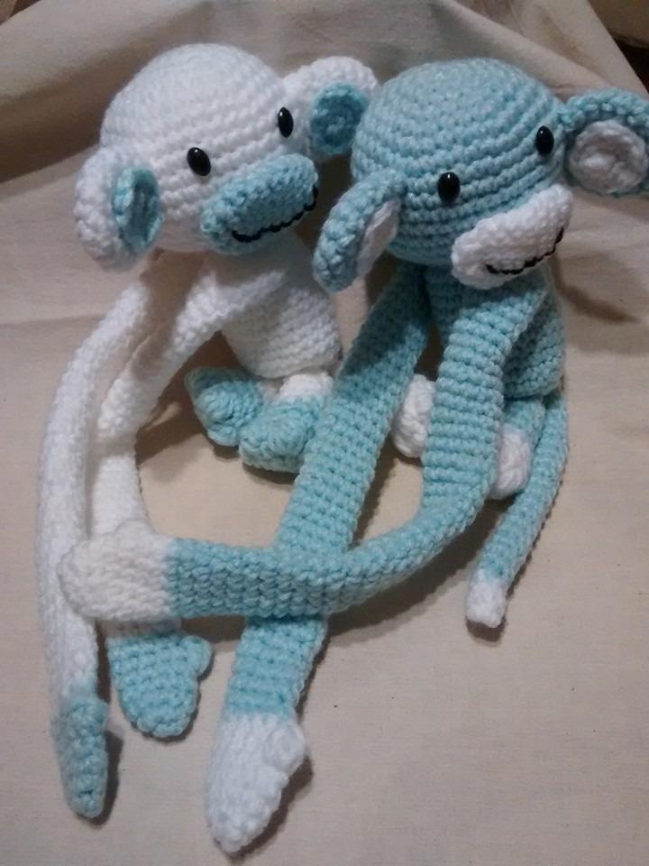 Monito Apego Crochet El Cristal Encantado - $ 399,99 en Mercado Libre