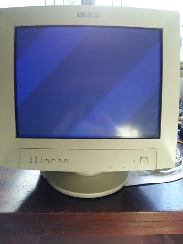 monitor 14  hewlett packard funcionando