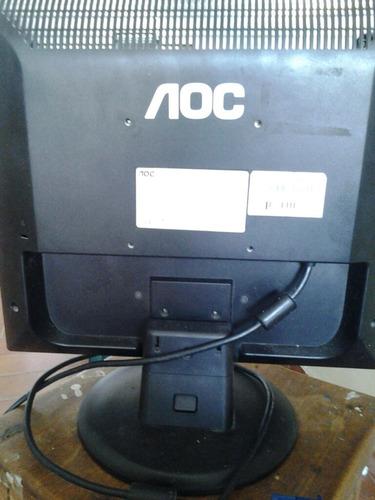 monitor 14 pulgadas. marca aoc