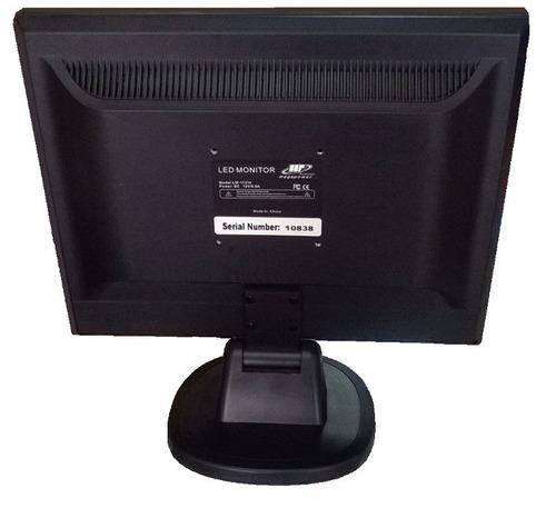 monitor 15  led megapower vga nuevo