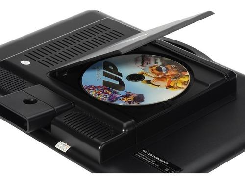 monitor 15,4 pol. tv digital hd com dvd hdmi usb 3d áudio integrado óculos 3d antena controle remoto