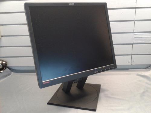 monitor 19 lenovo 9419-hb7 vga/dvi c/cables 73p3890