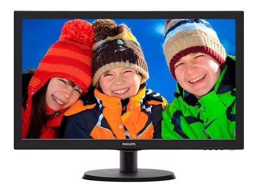 monitor 19  philips led smartcontrol lite 193v5lsb2