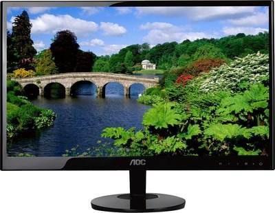 monitor 19 pulgadas led  aoc modelo e970sw puerto vga